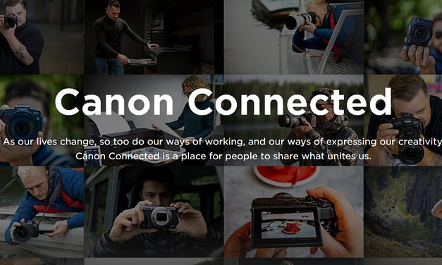 Canon launches Canon Connected – a free to access content hub