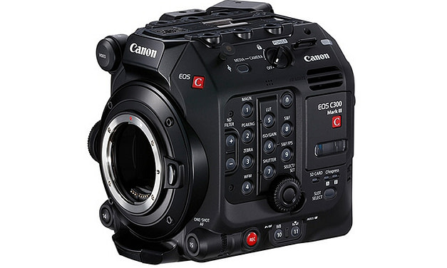 Canon release new EOS C300 Mark III Cinema Camera