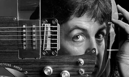 Video: Clive Arrowsmith Photographs Paul McCartney & His Guitars