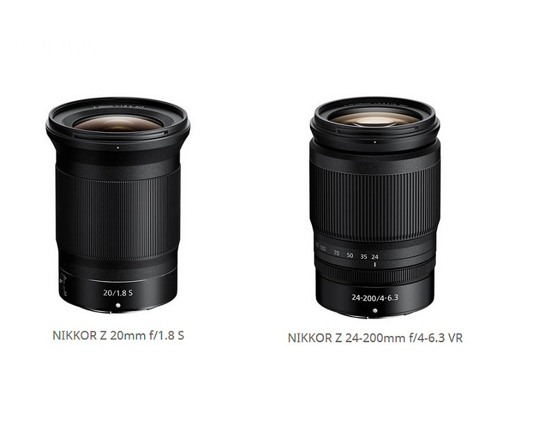 Nikon releases ultra-wide-angle NIKKOR Z 20mm f/1.8 S, and the zoom NIKKOR Z 24-200mm f/4-6.3 VR