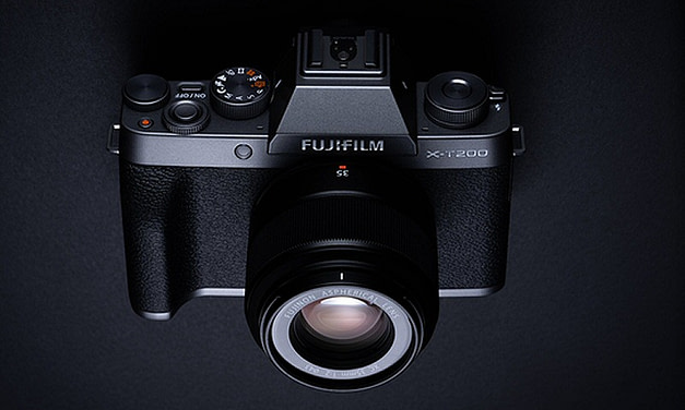 Fujifilm launches mirrorless digital camera FUJIFILM X-T200