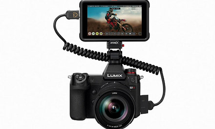LUMIX S1H Firmware being Developed for Maximum 5.9K/29.97p RAW Video Data Output to Atomos Ninja V