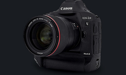 The Canon EOS-1D X Mark II