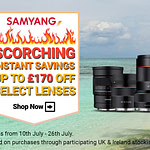 Samyang Launches 'Scorching Instant Savings' Event for UK & Ireland