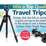 Fancy winning a travel tripod worth £119?