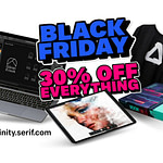 Affinity's 30% Black Friday discount offer!