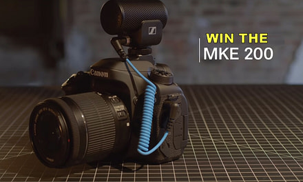 Win Sennheiser's latest MKE 200 VLogging Mic!