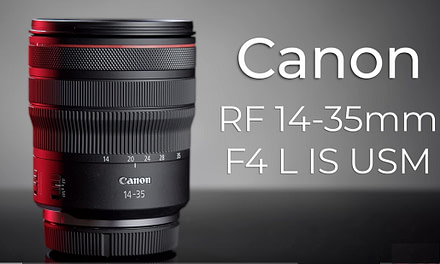 Canon release the RF 14-35mm f4L IS USM, its widest RF lens to date