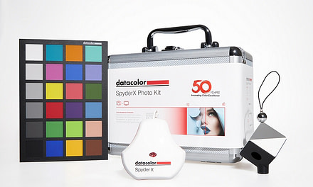 Datacolor® Celebrates 50th Anniversary with Launch of SpyderX Photo Kit