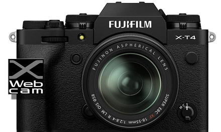 Fujifilm launches webcam software for X and GFX Series cameras.