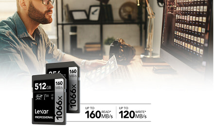 Lexar Announces New Professional 1066x SDXC™ UHS-I Card SILVER Series