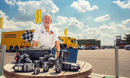 Mike Inkley's Olympus MFT at Snetterton racetrack video