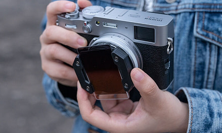 New Nisi Filter System for the Fujifilm X100v announced.
