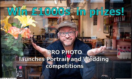 Professional Photo Mag launches Portrait and Wedding competitions