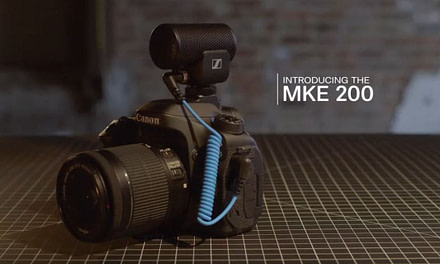 Sennheiser MKE 200 unboxing and live demo from Satureyes Media