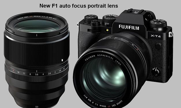 Fujifilm release XF50mm F1.0 R WR Lens.The first F1.0 portrait lens with Autofocus
