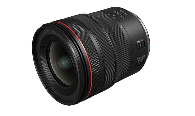 Canon Introduces New RF14-35mm F4 L IS USM Lens