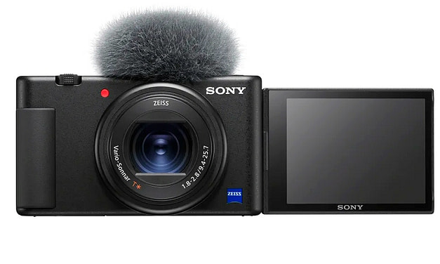 Sony releases Vlog Camera ZV-1 and FDR-AX43 Compact 4K Handycam®