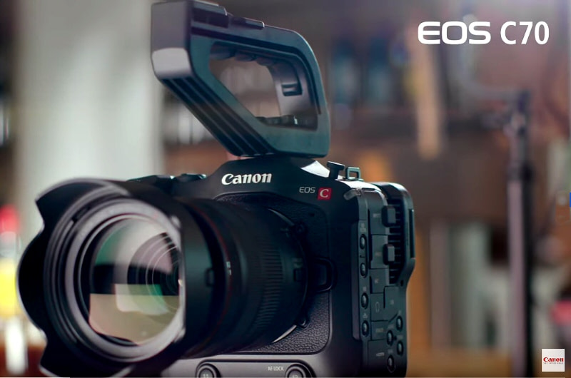Canon Releases the EOS C70 4K Digital Cinema Camera with RF Mount