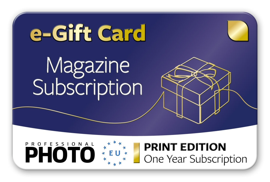 Subscription Gift Card - One Year European Print Edition