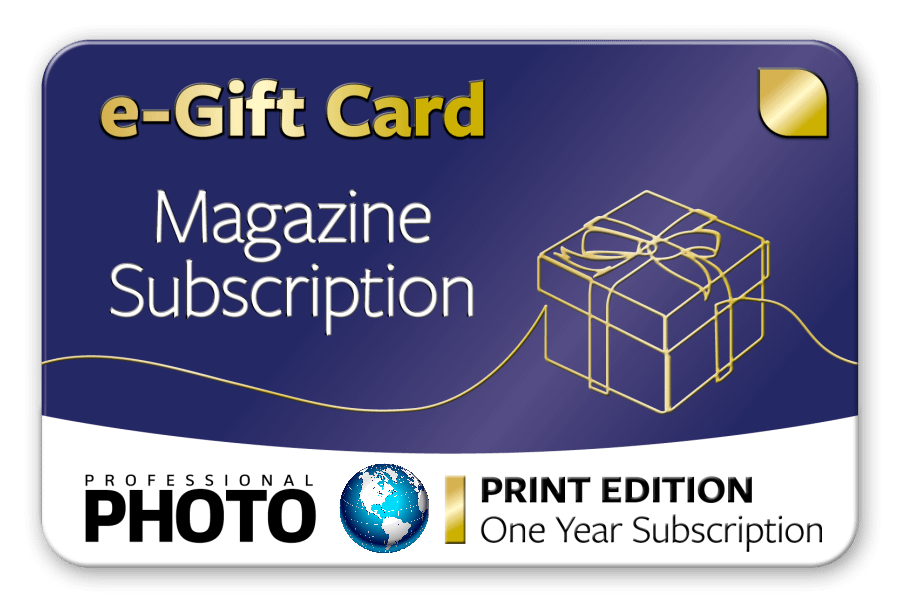 Subscription Gift Card - One Year Worldwide Print Edition