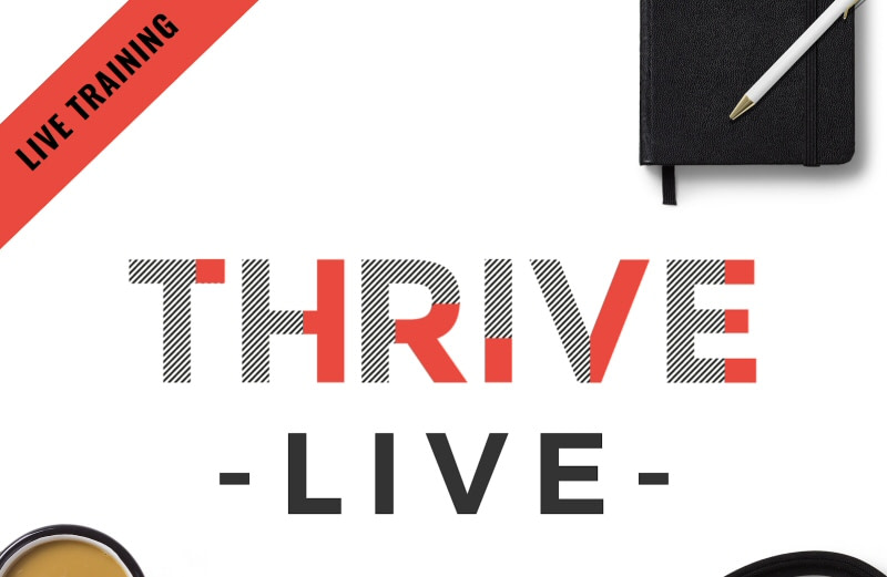Thrive Live Online Conferences from Photography Farm