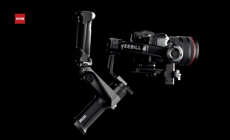 New Zhiyun Weebill 2 Gimbal Achieves Industry-First with Flip-Out Touchscreen Command Centre