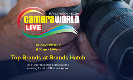 CameraWorldLIVE pulls into Brands Hatch 12th July