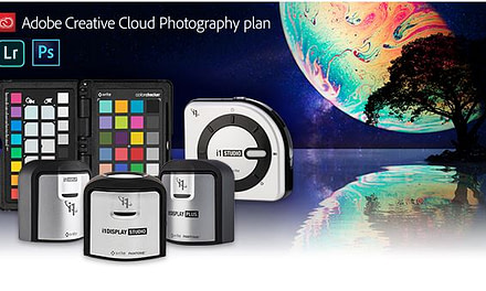 Claim your 1-year complimentary membership to Adobe Creative Cloud Photography plan!
