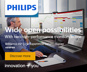 Philips 49 inch curved widescreen monitr