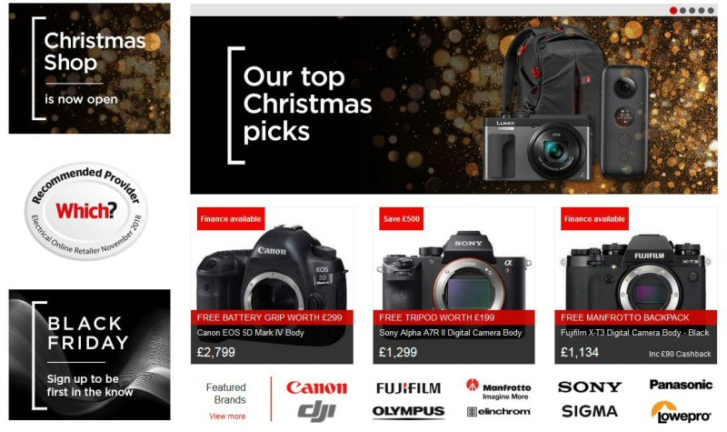 Wex Photo Video tops Which? Consumer Survey for Best Online Shops 2019 for second year running